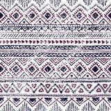 безшовное предпосылки этническое Геометрические линии на белом backgroun Стоковое Изображение
