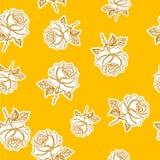 Безшовное розовое patternet Стоковая Фотография RF