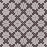 Безшовное фоновое изображение геометрии креста проверки Стоковое Изображение