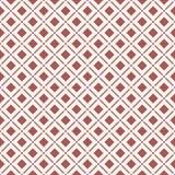 Безшовное фоновое изображение пересекающаяся линия проверки квадрата круглого угла Стоковая Фотография