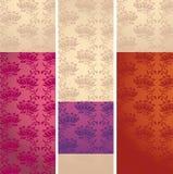 Безшовное флористическое pattern4 Стоковые Фото