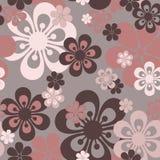 безшовное цветков розовое Стоковая Фотография