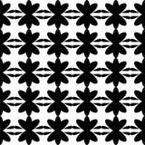 Безшовное черной картины флористическое Стоковые Изображения RF