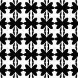 Безшовное черной картины флористическое Стоковые Фото