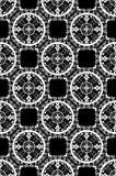 безшовное штофа шикарное monochrome Стоковое фото RF