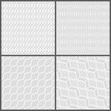 Безшовное pattern_set07 Стоковая Фотография