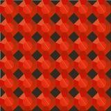 Безшовной рубин граненный картиной красный на черноте стоковое фото
