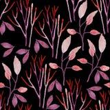 Безшовной цветочный узор проиллюстрированный рукой бесплатная иллюстрация