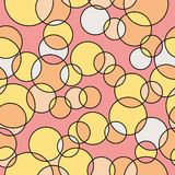 Backgroumd картины кругов Иллюстрация штока