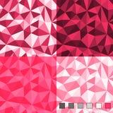 Безшовные абстрактные полигональные картины предпосылки Стоковая Фотография RF