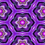 Безшовные абстрактные фиолетовые текстура или предпосылка с нашлепкой радуги Стоковые Изображения RF