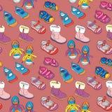 Безшовные ботинки Стоковые Фотографии RF