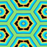 Безшовные винтажные абстрактные красочные геометрические картина или предпосылка Стоковое Изображение RF