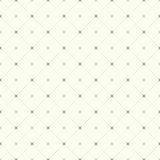 Безшовные винтажные пунктирная линия и крест проверки делают по образцу предпосылку Стоковое Фото