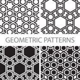 Безшовные геометрические картины tiling Стоковые Фотографии RF