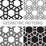 Безшовные геометрические картины tiling Стоковая Фотография