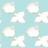 Безшовные голуби Стоковые Фото