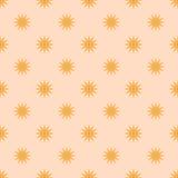 Безшовные звезды картины Стоковые Изображения RF