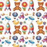 Безшовные игрушки Стоковая Фотография RF