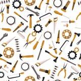 Безшовные инструменты картины Стоковое Изображение RF