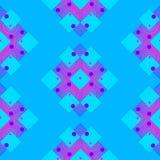 Безшовные картины в форме геометрических форм Стоковые Фотографии RF