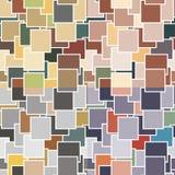 Безшовные картины с геометрическими элементами Стоковые Изображения