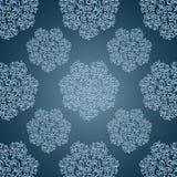 Безшовные картины с шнурком цветут в викторианском s бесплатная иллюстрация