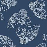 Безшовные картины с fish-01 бесплатная иллюстрация