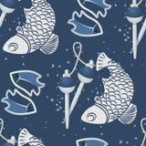 Безшовные картины с fish-03 бесплатная иллюстрация