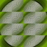 Безшовные квадраты делают по образцу серые шнурки светло-зеленые бесплатная иллюстрация