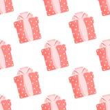 Безшовные коробки картины с подарками на белой любов предпосылки стоковые изображения