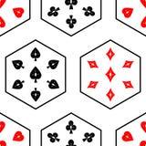 Безшовные костюмы 02 карточки Стоковые Изображения