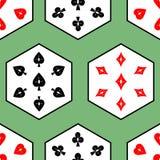 Безшовные костюмы 03 карточки Стоковая Фотография RF