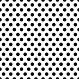 Безшовные круги, картина точек Плавно repeatable точка польки иллюстрация штока
