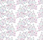 Безшовные милые красочные флористические обои Стоковая Фотография RF