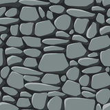безшовные обои камней Стоковая Фотография