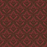 безшовные обои сбора винограда текстуры Стоковая Фотография RF