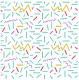 Безшовные примитивные геометрические картины минимализма Стоковые Фото