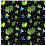 Безшовные примитивные геометрические картины минимализма Стоковые Изображения RF