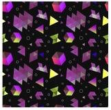 Безшовные примитивные геометрические картины минимализма Стоковое Фото