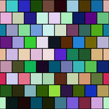 Безшовные плитки цвета - checkered предпосылка Стоковое Фото