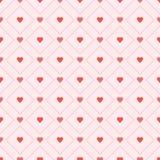 Безшовные ретро сердца картины Вектор EPS 10 Стоковое фото RF