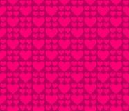 Безшовные сердца 34 картины Стоковые Фотографии RF