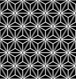 Безшовные треугольники и картина диамантов геометрическая текстура Стоковые Изображения