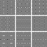 Безшовные установленные картины. Стоковые Изображения RF