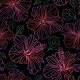 Безшовные цветочные узоры вектора Стоковые Фотографии RF