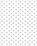 Безшовные черные точки Стоковые Фото
