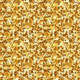 безшовные sequins золота иллюстрация штока