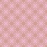 Безшовный абстрактный винтажный свет - розовая картина иллюстрация вектора