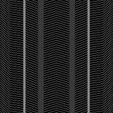 Безшовный абстрактный зигзаг выравнивает картины вектора Фон моды вектора в винтажном стиле Стоковое Изображение